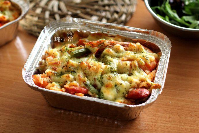 鲜虾焗饭 菜谱   赛厨易