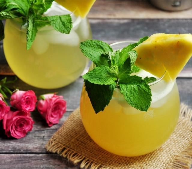 圣哲曼鸡尾酒配菠萝汁 菜谱   赛厨易