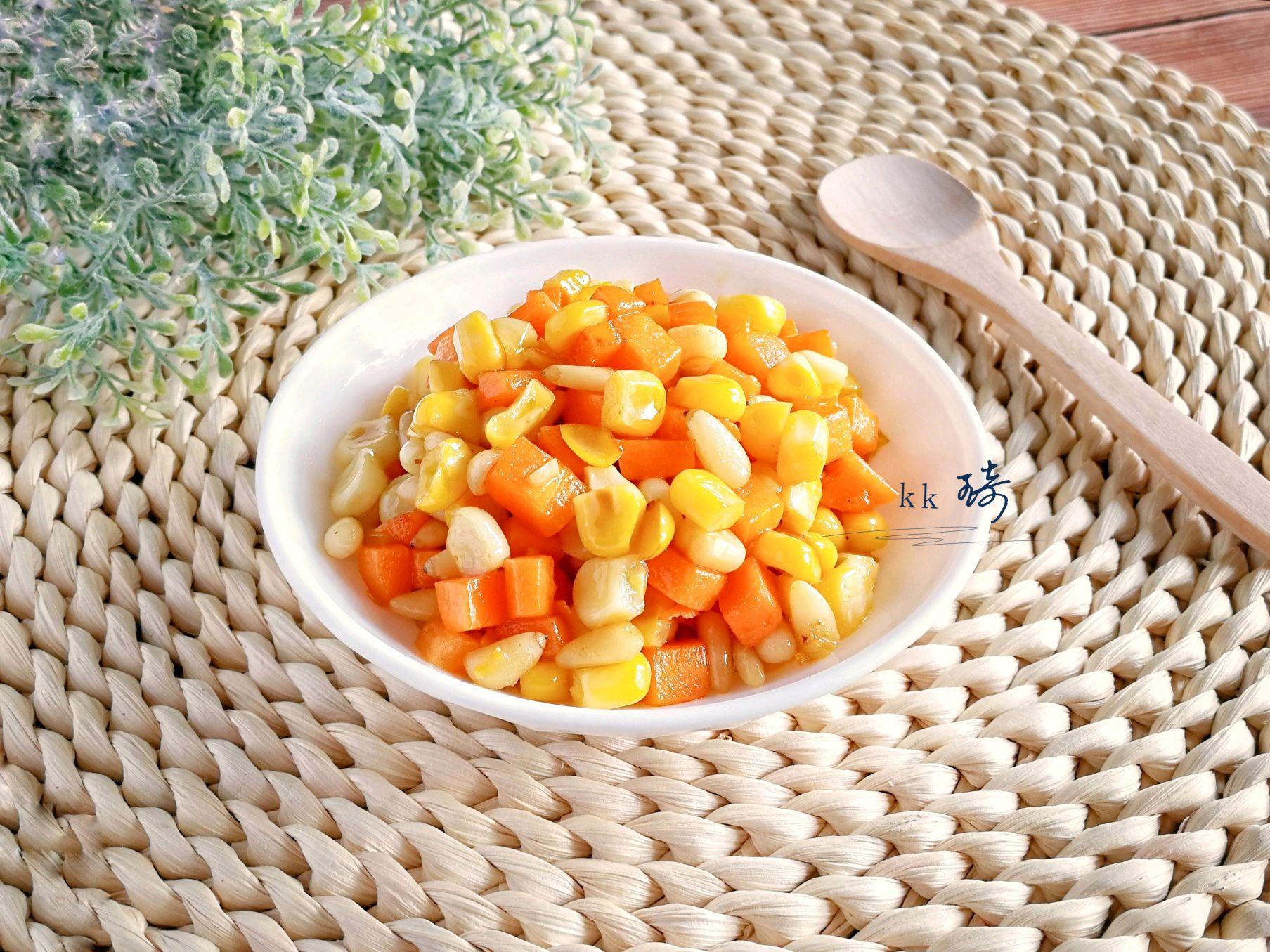 松仁玉米胡萝卜丁 菜谱 | 赛厨易