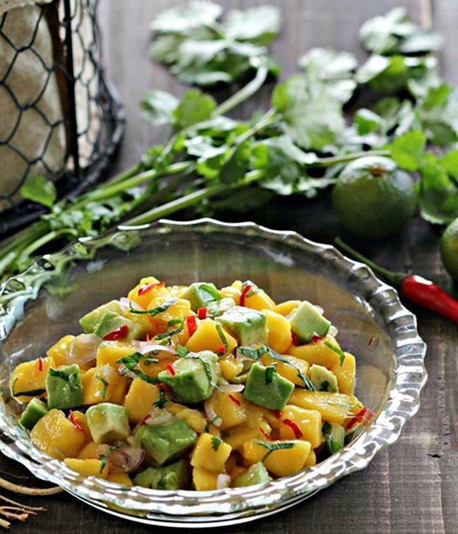 芒果鳄梨沙拉 菜谱 | 赛厨易