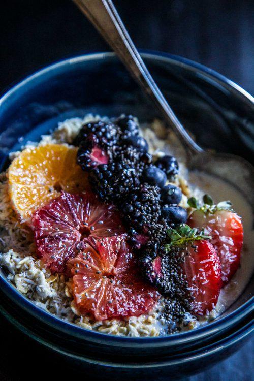 血橙黑莓燕麦碗 菜谱 | 赛厨易