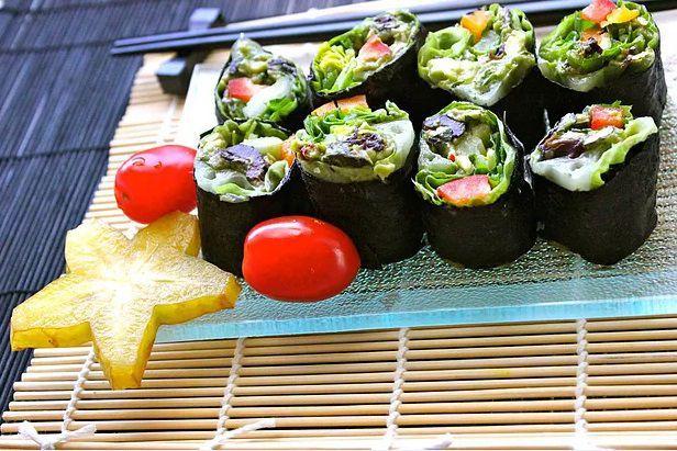 素食牛油果种子卷 菜谱 | 赛厨易