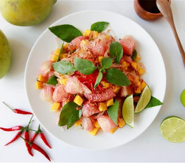 越南柚子沙拉 菜谱 | 赛厨易