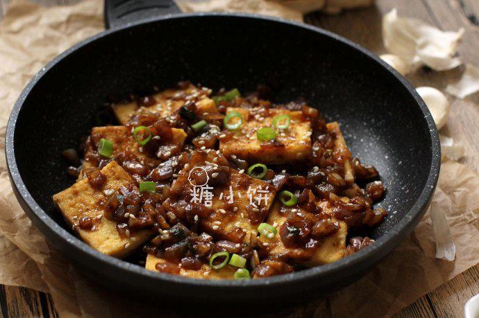 孜然洋葱煎豆腐 菜谱   赛厨易