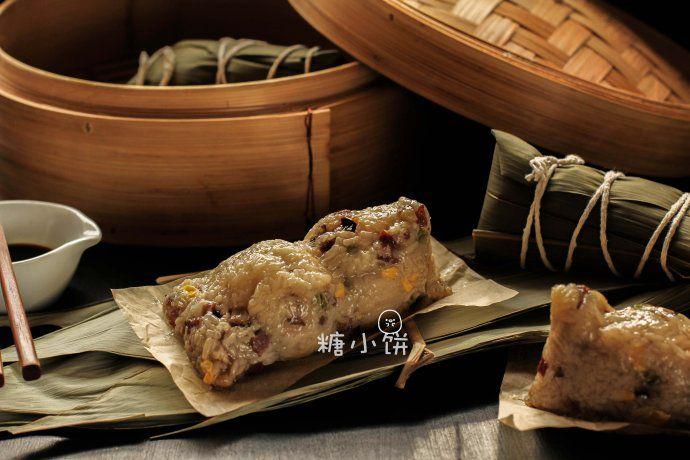 培根香菇豌豆粽 菜谱   赛厨易