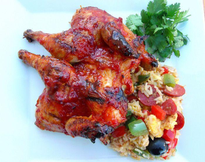 皮里皮里鸡配葡萄牙炒饭 菜谱   赛厨易