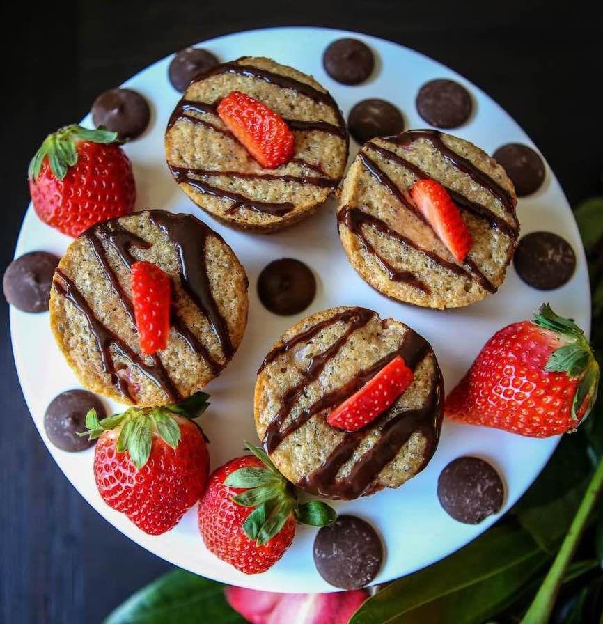 美味健康的草莓巧克力玛芬 菜谱   赛厨易
