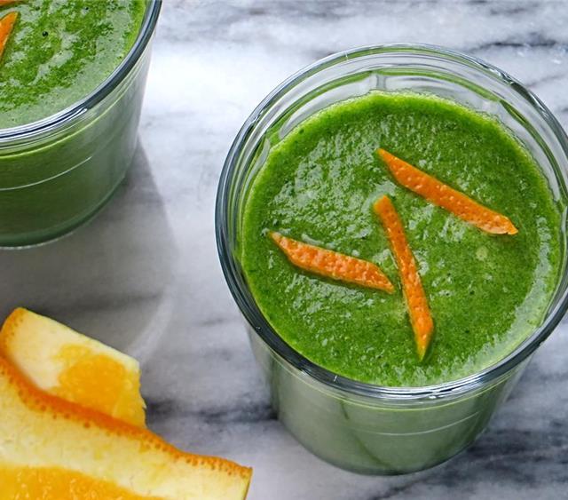 绿色排毒奶昔 菜谱   赛厨易