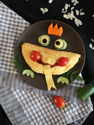 小青蛙欧姆蛋 菜谱 | 赛厨易
