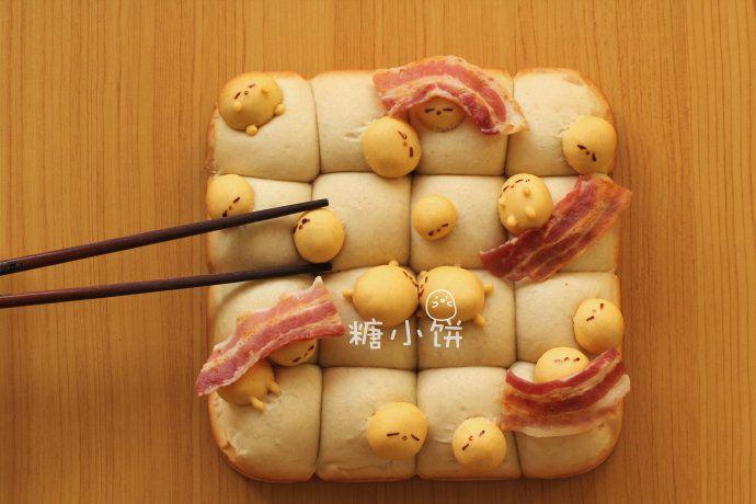 懒蛋蛋挤挤面包 菜谱 | 赛厨易