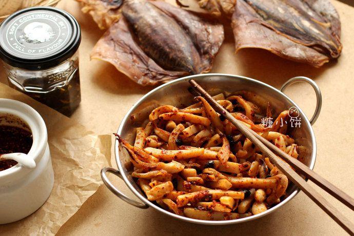 红油豉香墨鱼条 菜谱   赛厨易