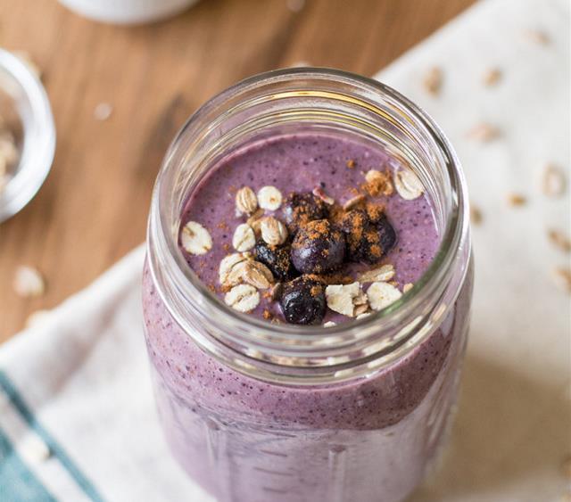 蓝莓香蕉早餐奶昔 菜谱 | 赛厨易