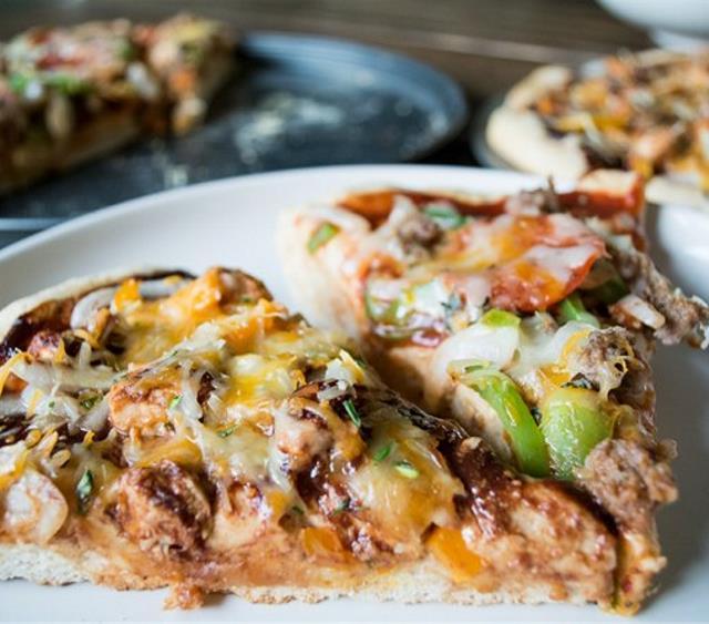 烤鸡肉披萨 菜谱   赛厨易