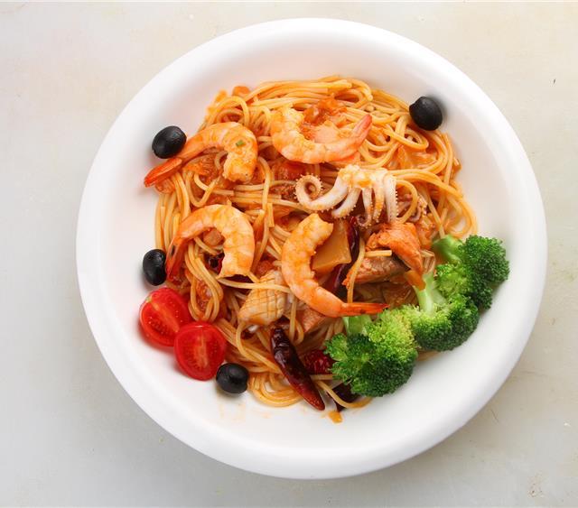 意大利海鲜面 菜谱   赛厨易