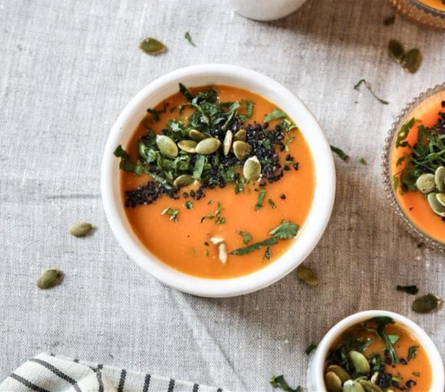 简单的烤胡萝卜浓汤 菜谱   赛厨易