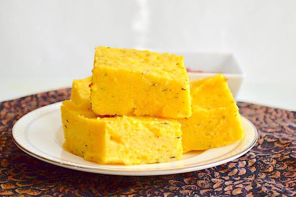 烤蒜香草玉米块 菜谱   赛厨易