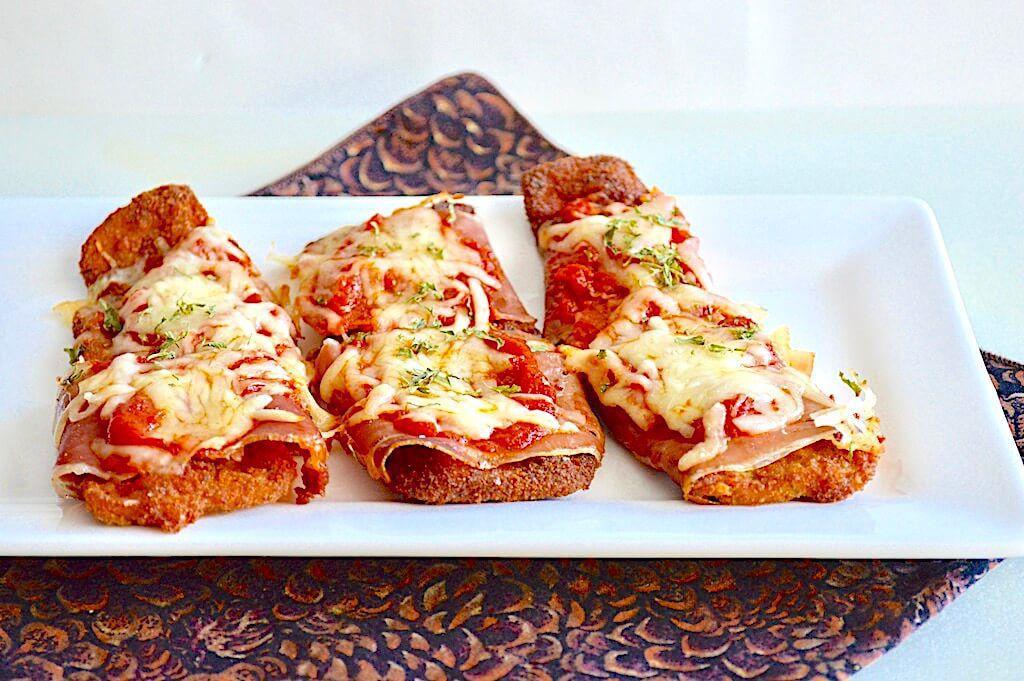 一人份的奶酪茄子 菜谱   赛厨易