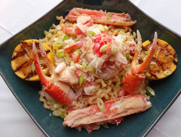 鳀鱼黄油配雪蟹梭鱼 菜谱 | 赛厨易