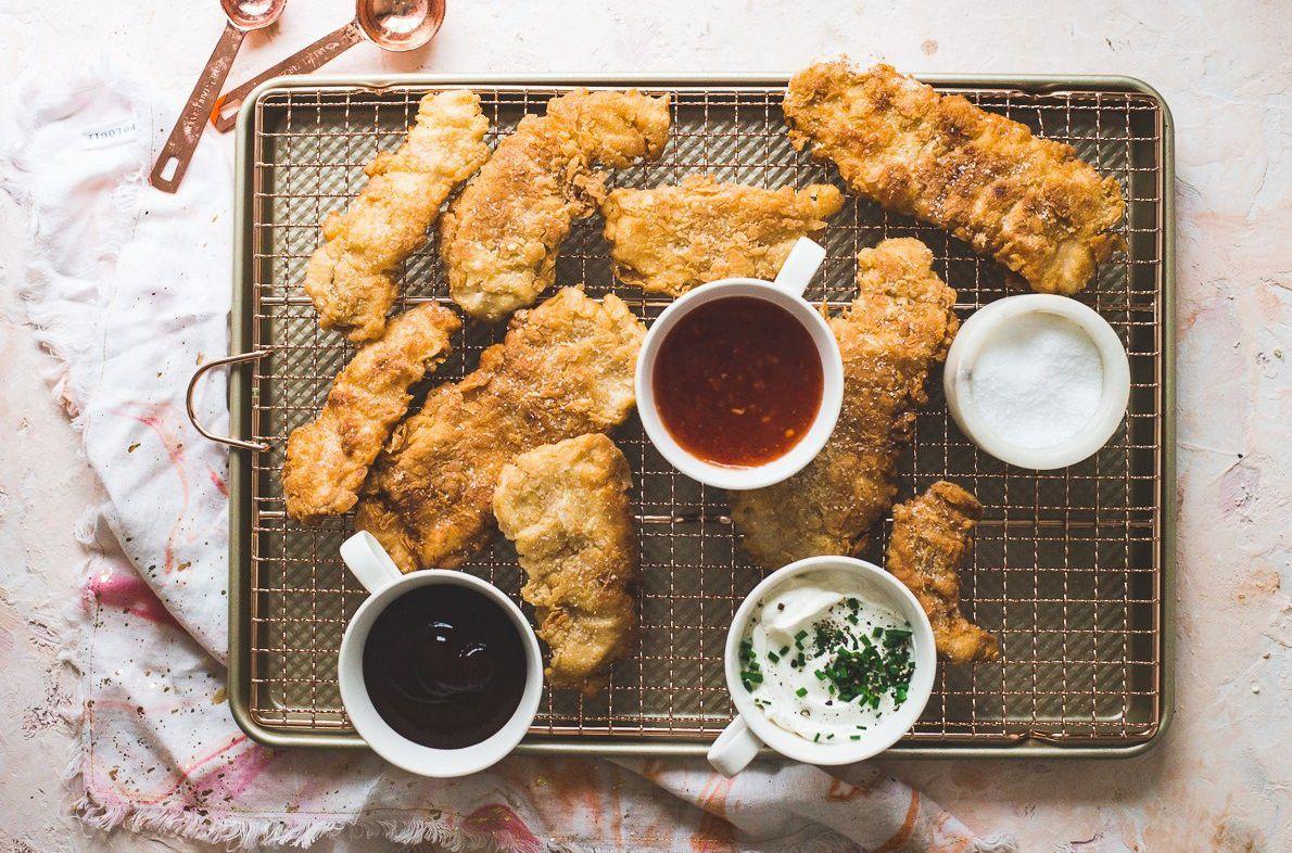 自制平底锅炸鸡块 菜谱   赛厨易