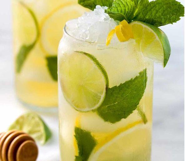 柠檬蜂蜜冰绿茶 菜谱   赛厨易
