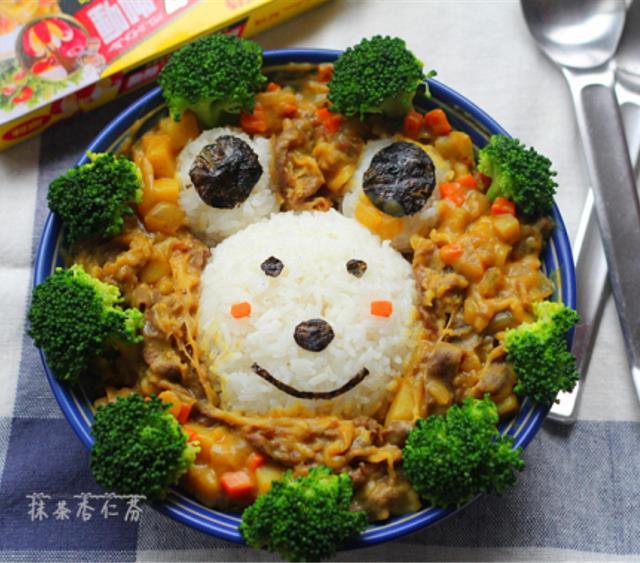 萌小熊咖喱饭 菜谱   赛厨易