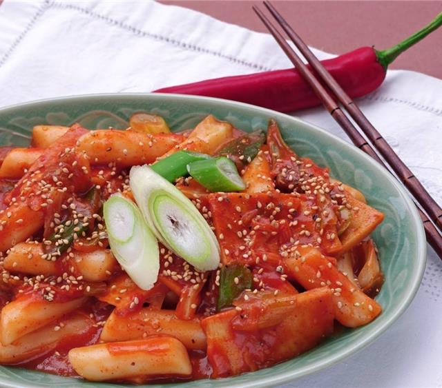 韩式辣炒年糕 菜谱 | 赛厨易
