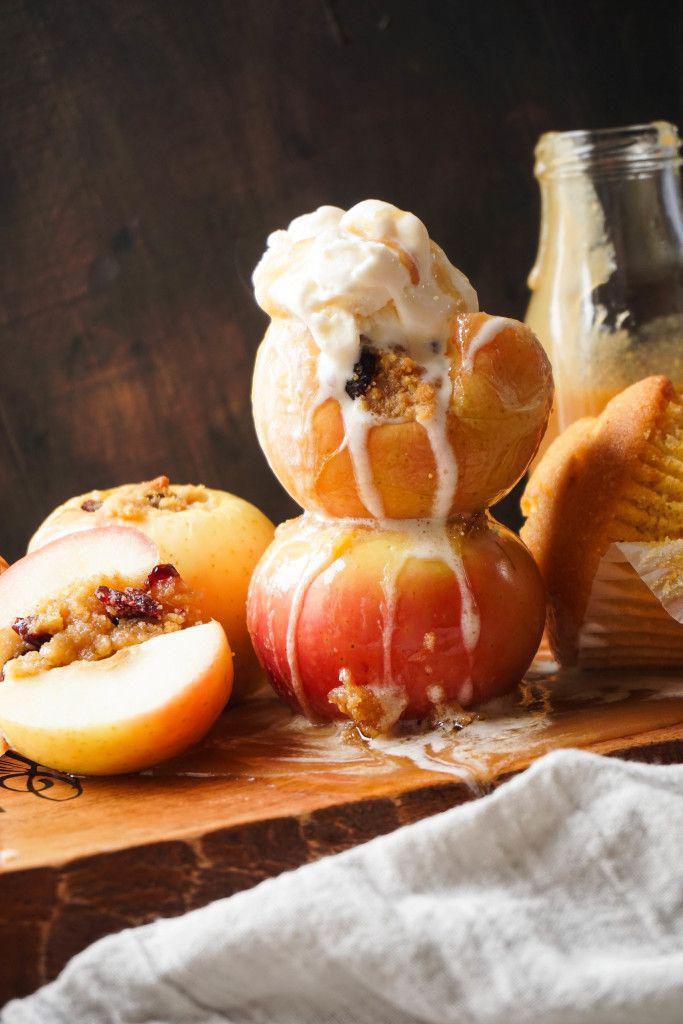 玉米面包和蔓越莓馅苹果 菜谱   赛厨易