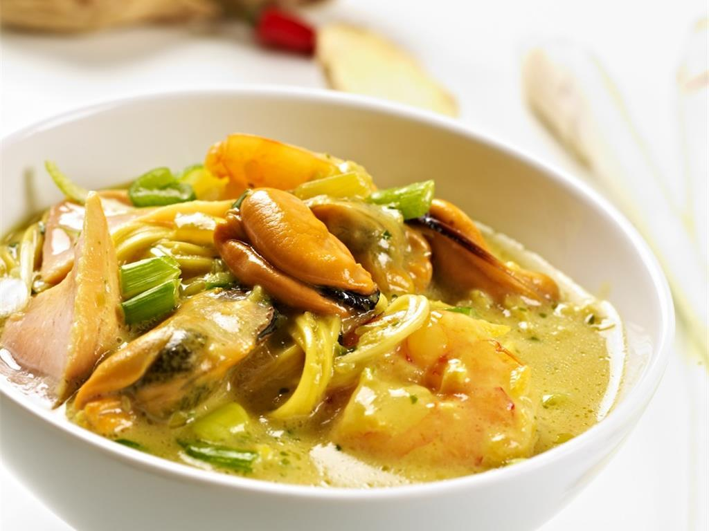新加坡香辣海鲜叻沙 菜谱 | 赛厨易