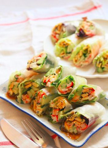 异国风情的越南春卷 菜谱 | 赛厨易