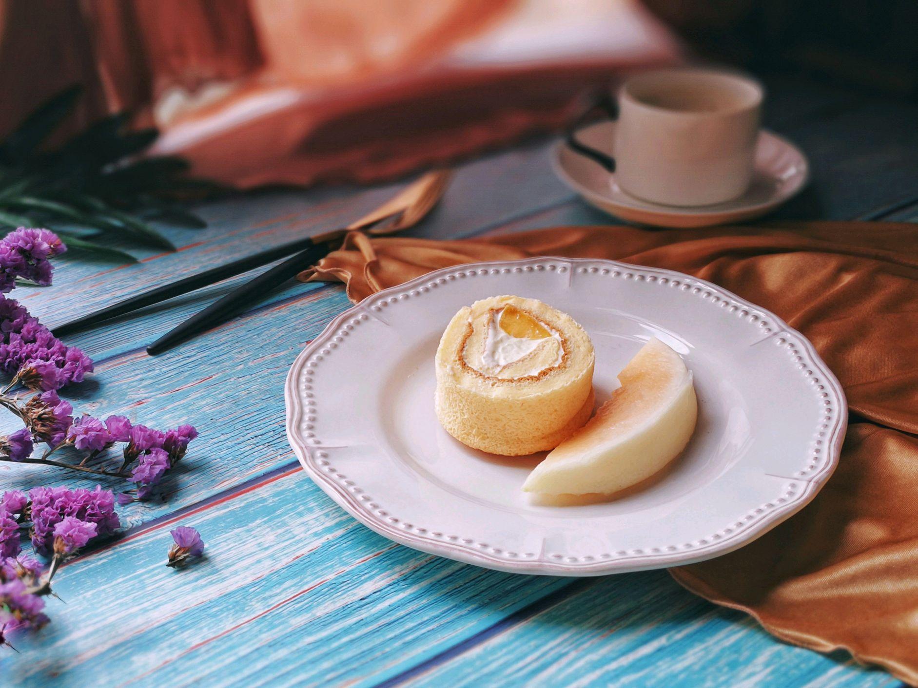 黄桃蛋糕卷 菜谱   赛厨易