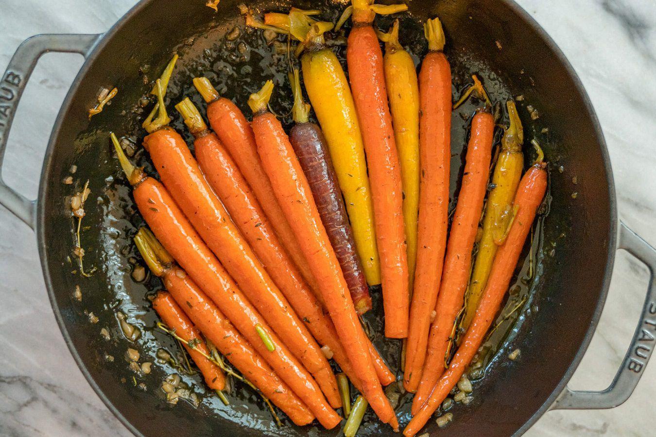 黏黏的胡萝卜 菜谱   赛厨易