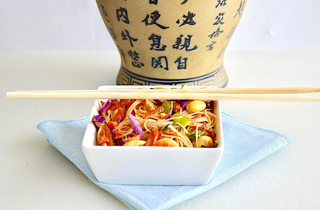 亚洲面条沙拉 菜谱   赛厨易