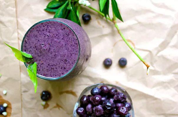 充满活力的蓝莓香草奶昔 菜谱   赛厨易