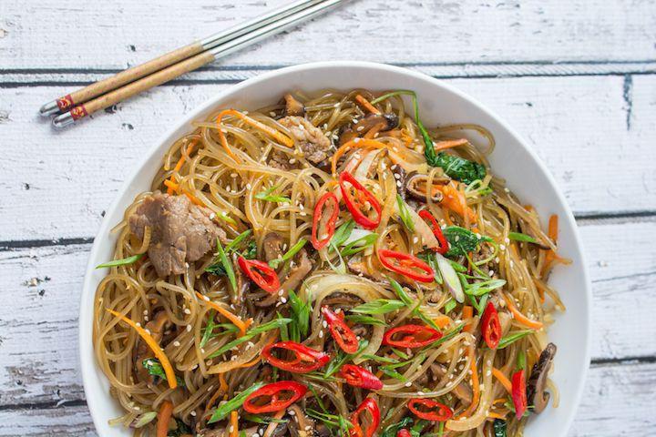 韩式炒面 菜谱   赛厨易