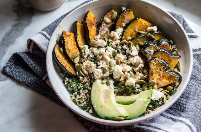 烤小青南瓜和藜麦能量碗 菜谱 | 赛厨易