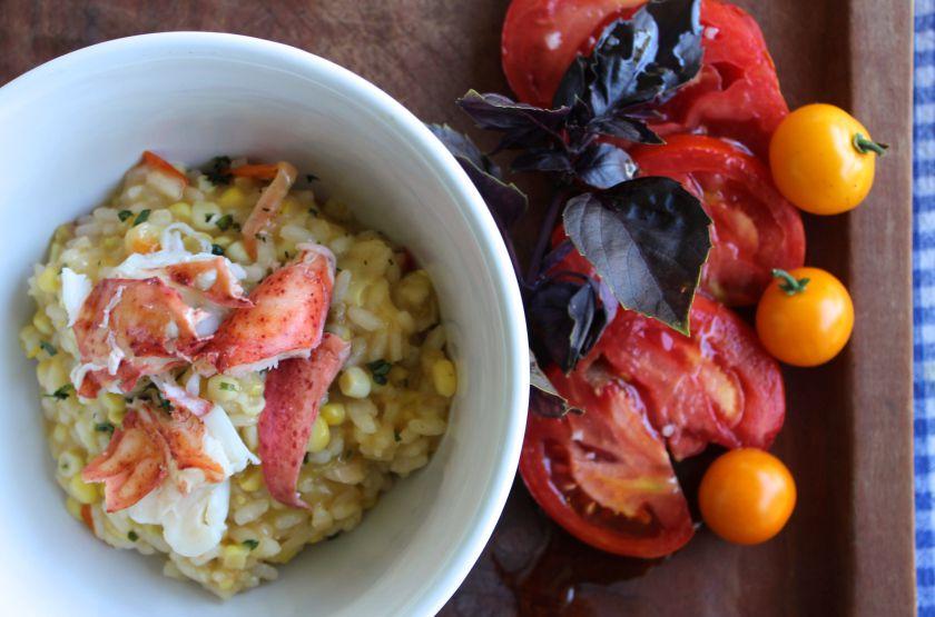 龙虾和玉米意大利调味饭 菜谱 | 赛厨易
